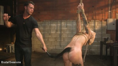 Photo number 4 from Anal Pig: Luna Lovely Abused in Rough Sex and Brutal Rope Bondage shot for Brutal Sessions on Kink.com. Featuring Seth Gamble and Luna Lovely in hardcore BDSM & Fetish porn.