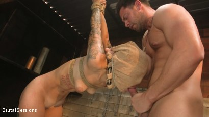 Photo number 6 from Anal Pig: Luna Lovely Abused in Rough Sex and Brutal Rope Bondage shot for Brutal Sessions on Kink.com. Featuring Seth Gamble and Luna Lovely in hardcore BDSM & Fetish porn.