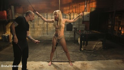Photo number 3 from Sophia Grace: All-Natural Blonde Power Fucked in Rope Bondage shot for Brutal Sessions on Kink.com. Featuring Mr. Pete and Sophia Grace in hardcore BDSM & Fetish porn.