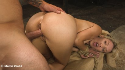 Photo number 21 from Sophia Grace: All-Natural Blonde Power Fucked in Rope Bondage shot for Brutal Sessions on Kink.com. Featuring Mr. Pete and Sophia Grace in hardcore BDSM & Fetish porn.