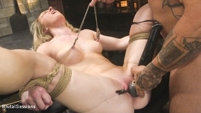 Worthless Fucking Whore: Kate Kennedy is Used and Abused by Derrick Pierce