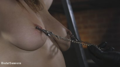 Photo number 1 from Attitude Adjustment: Slutty Skylar Snow gets her ass flogged, caned and fucked shot for Brutal Sessions on Kink.com. Featuring Tommy Pistol and Skylar Snow in hardcore BDSM & Fetish porn.