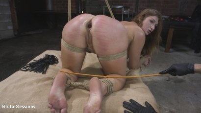 Photo number 11 from Attitude Adjustment: Slutty Skylar Snow gets her ass flogged, caned and fucked shot for Brutal Sessions on Kink.com. Featuring Tommy Pistol and Skylar Snow in hardcore BDSM & Fetish porn.
