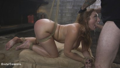 Photo number 5 from Attitude Adjustment: Slutty Skylar Snow gets her ass flogged, caned and fucked shot for Brutal Sessions on Kink.com. Featuring Tommy Pistol and Skylar Snow in hardcore BDSM & Fetish porn.