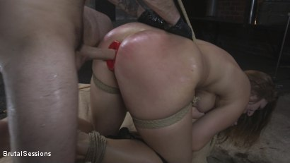 Photo number 10 from Attitude Adjustment: Slutty Skylar Snow gets her ass flogged, caned and fucked shot for Brutal Sessions on Kink.com. Featuring Tommy Pistol and Skylar Snow in hardcore BDSM & Fetish porn.