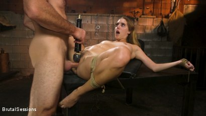 Photo number 23 from Cadence Lux: Cock Hungry Slut Takes A Greedy Beating From Charles Dera shot for Brutal Sessions on Kink.com. Featuring Charles Dera and Cadence Lux in hardcore BDSM & Fetish porn.