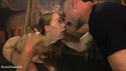 Photo number 2 from Cadence Lux: Cock Hungry Slut Takes A Greedy Beating From Charles Dera shot for Brutal Sessions on Kink.com. Featuring Charles Dera and Cadence Lux in hardcore BDSM & Fetish porn.