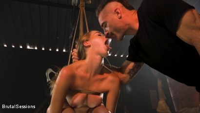 Photo number 3 from Cadence Lux: Cock Hungry Slut Takes A Greedy Beating From Charles Dera shot for Brutal Sessions on Kink.com. Featuring Charles Dera and Cadence Lux in hardcore BDSM & Fetish porn.