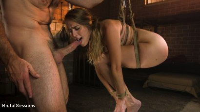 Photo number 6 from Cadence Lux: Cock Hungry Slut Takes A Greedy Beating From Charles Dera shot for Brutal Sessions on Kink.com. Featuring Charles Dera and Cadence Lux in hardcore BDSM & Fetish porn.