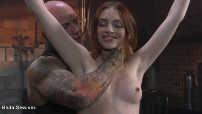Photo number 1 from Maya Kendrick gets her whore holes fucked and flogged in bondage shot for Brutal Sessions on Kink.com. Featuring Derrick Pierce and Maya Kendrick in hardcore BDSM & Fetish porn.