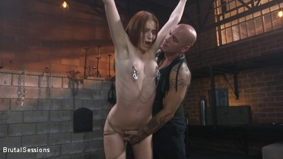 Photo number 2 from Maya Kendrick gets her whore holes fucked and flogged in bondage shot for Brutal Sessions on Kink.com. Featuring Derrick Pierce and Maya Kendrick in hardcore BDSM & Fetish porn.