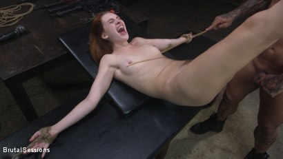 Photo number 11 from Maya Kendrick gets her whore holes fucked and flogged in bondage shot for Brutal Sessions on Kink.com. Featuring Derrick Pierce and Maya Kendrick in hardcore BDSM & Fetish porn.