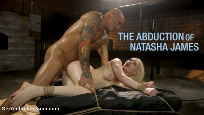 The Abduction of Natasha James: Petite Russian Blonde Bound and Fucked