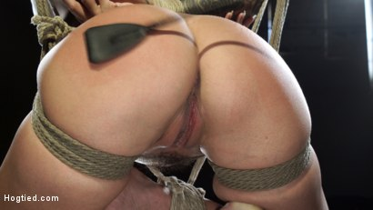 Photo number 15 from Gia DiMarco is Back! Grueling Bondage And Mind-Blowing Orgasms shot for Hogtied on Kink.com. Featuring Gia DiMarco in hardcore BDSM & Fetish porn.