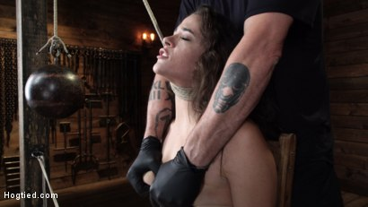 Photo number 2 from Victoria Voxxx: EXTREME Torment, Brutal Bondage and Waterboarding! shot for Hogtied on Kink.com. Featuring Victoria Voxxx in hardcore BDSM & Fetish porn.