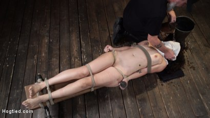 Photo number 20 from Victoria Voxxx: EXTREME Torment, Brutal Bondage and Waterboarding! shot for Hogtied on Kink.com. Featuring Victoria Voxxx in hardcore BDSM & Fetish porn.