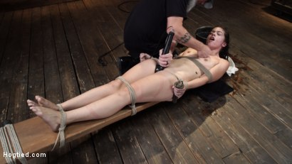Photo number 24 from Victoria Voxxx: EXTREME Torment, Brutal Bondage and Waterboarding! shot for Hogtied on Kink.com. Featuring Victoria Voxxx in hardcore BDSM & Fetish porn.
