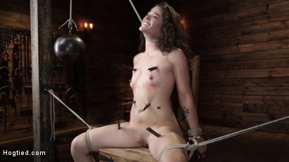 Photo number 3 from Victoria Voxxx: EXTREME Torment, Brutal Bondage and Waterboarding! shot for Hogtied on Kink.com. Featuring Victoria Voxxx in hardcore BDSM & Fetish porn.