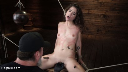 Photo number 5 from Victoria Voxxx: EXTREME Torment, Brutal Bondage and Waterboarding! shot for Hogtied on Kink.com. Featuring Victoria Voxxx in hardcore BDSM & Fetish porn.