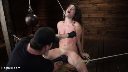 Photo number 7 from Victoria Voxxx: EXTREME Torment, Brutal Bondage and Waterboarding! shot for Hogtied on Kink.com. Featuring Victoria Voxxx in hardcore BDSM & Fetish porn.