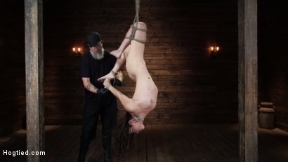 Photo number 9 from Victoria Voxxx: EXTREME Torment, Brutal Bondage and Waterboarding! shot for Hogtied on Kink.com. Featuring Victoria Voxxx in hardcore BDSM & Fetish porn.
