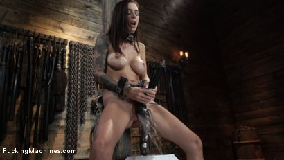 Photo number 24 from Gia DiMarco: Queen Bee is Tied Up and Machine Fucked shot for Fucking Machines on Kink.com. Featuring Gia DiMarco in hardcore BDSM & Fetish porn.