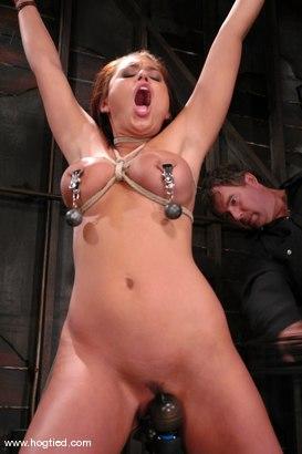 Photo number 5 from Eva Angelina shot for Hogtied on Kink.com. Featuring Eva Angelina in hardcore BDSM & Fetish porn.