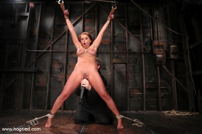 Photo number 6 from Eva Angelina shot for Hogtied on Kink.com. Featuring Eva Angelina in hardcore BDSM & Fetish porn.