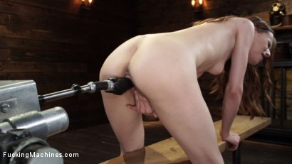 Photo number 16 from Jillian Janson: Sexy Young Slut is Machine Fucked for the First Time shot for Fucking Machines on Kink.com. Featuring Jillian Janson in hardcore BDSM & Fetish porn.