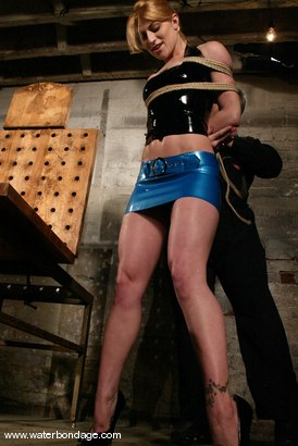 Photo number 2 from Tawni Ryden  Back and Better Than Ever! shot for Water Bondage on Kink.com. Featuring Tawni Ryden in hardcore BDSM & Fetish porn.