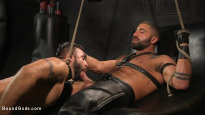 Franco Gets FUCKED: New Slave Flogged and Fucked by Sharok