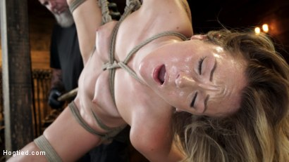 Photo number 16 from Charlotte Sins: Tall Blonde Beauty Makes Her Debut shot for Hogtied on Kink.com. Featuring Charlotte Sins in hardcore BDSM & Fetish porn.