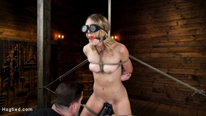 Photo number 6 from Charlotte Sins: Tall Blonde Beauty Makes Her Debut shot for Hogtied on Kink.com. Featuring Charlotte Sins in hardcore BDSM & Fetish porn.