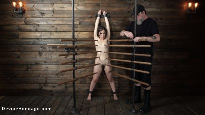 Photo number 1 from Juliette March: Perfect Pain Slut Pushed to the Extreme shot for Device Bondage on Kink.com. Featuring Juliette March in hardcore BDSM & Fetish porn.