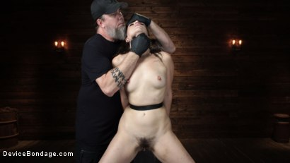 Photo number 12 from Juliette March: Perfect Pain Slut Pushed to the Extreme shot for Device Bondage on Kink.com. Featuring Juliette March in hardcore BDSM & Fetish porn.