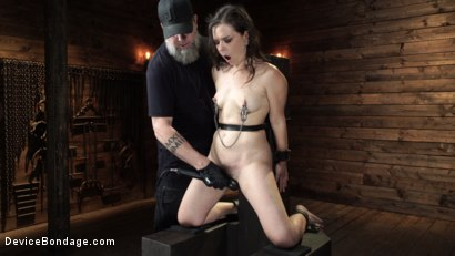 Photo number 16 from Juliette March: Perfect Pain Slut Pushed to the Extreme shot for Device Bondage on Kink.com. Featuring Juliette March in hardcore BDSM & Fetish porn.