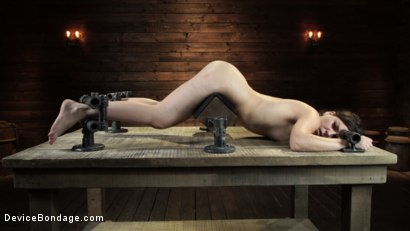 Photo number 17 from Juliette March: Perfect Pain Slut Pushed to the Extreme shot for Device Bondage on Kink.com. Featuring Juliette March in hardcore BDSM & Fetish porn.