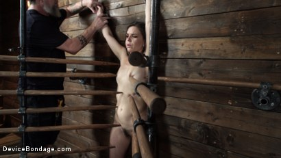 Photo number 2 from Juliette March: Perfect Pain Slut Pushed to the Extreme shot for Device Bondage on Kink.com. Featuring Juliette March in hardcore BDSM & Fetish porn.