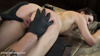 Photo number 21 from Juliette March: Perfect Pain Slut Pushed to the Extreme shot for Device Bondage on Kink.com. Featuring Juliette March in hardcore BDSM & Fetish porn.