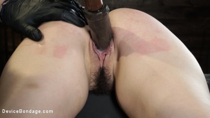 Photo number 22 from Juliette March: Perfect Pain Slut Pushed to the Extreme shot for Device Bondage on Kink.com. Featuring Juliette March in hardcore BDSM & Fetish porn.