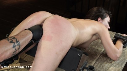 Photo number 25 from Juliette March: Perfect Pain Slut Pushed to the Extreme shot for Device Bondage on Kink.com. Featuring Juliette March in hardcore BDSM & Fetish porn.