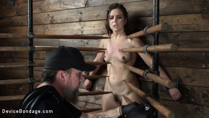 Photo number 6 from Juliette March: Perfect Pain Slut Pushed to the Extreme shot for Device Bondage on Kink.com. Featuring Juliette March in hardcore BDSM & Fetish porn.