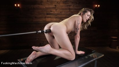 Photo number 15 from Charlotte Sins: Newcomer Takes a Machine Pounding shot for Fucking Machines on Kink.com. Featuring Charlotte Sins in hardcore BDSM & Fetish porn.