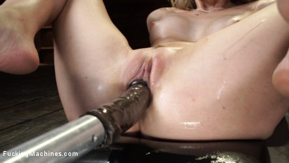 Photo number 22 from Charlotte Sins: Newcomer Takes a Machine Pounding shot for Fucking Machines on Kink.com. Featuring Charlotte Sins in hardcore BDSM & Fetish porn.