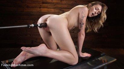 Photo number 24 from Charlotte Sins: Newcomer Takes a Machine Pounding shot for Fucking Machines on Kink.com. Featuring Charlotte Sins in hardcore BDSM & Fetish porn.
