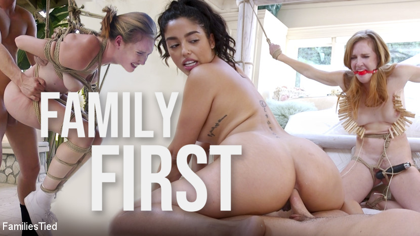 Families Tied - Family First: Cucked Slut Signs It Away for Her Step-Brother's Cock - Kink