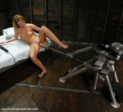 Photo number 7 from Saddle up for Texas hottie, Emily Evermoore shot for Fucking Machines on Kink.com. Featuring Emily Evermoore in hardcore BDSM & Fetish porn.