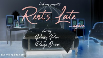 Photo number 1 from Rent's Late: Newcomer Paige Owens Gives Up Ass to Penny Pax for Rent shot for Everything Butt on Kink.com. Featuring Penny Pax and Paige Owens in hardcore BDSM & Fetish porn.