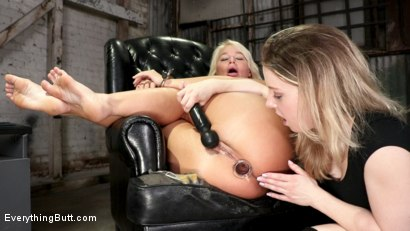Photo number 5 from After School Anal: Bratty Kate Kennedy Fists Hot MILF London River shot for Everything Butt on Kink.com. Featuring Kate Kennedy and London River in hardcore BDSM & Fetish porn.