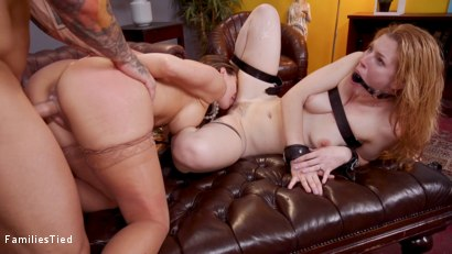 Photo number 22 from Mommy's Girl: Anal Slut Didn't Save Enough Pussy For Step-Mommy shot for  on Kink.com. Featuring Cherie DeVille, Ella Nova  and Derrick Pierce in hardcore BDSM & Fetish porn.